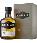 BALBLAIR 12 Years Old Single Malt Whiksy