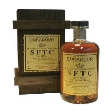 Edradour SFTC Aged 10 Years Sauternes Cask Matured