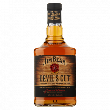 Jim Beam Devils Cut Bourbon Kentucky Straight Whiskey