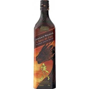 Johnnie Walker a Song of Fire Game of Thrones Limited Edition