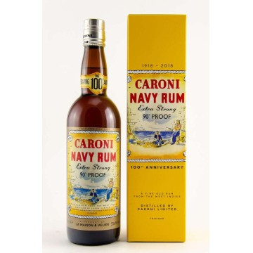 Caroni Navy Rum Replica Extra Strong 90 Proof 100th Anniversary (51,4%)