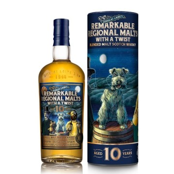 Douglas Laing's Remarkable Regional Malts with a Twist 10 Years