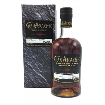 GLENALLACHIE SINGLE CASK 13 Years Old PX Puncheon Cask 4522 Vintage 2006