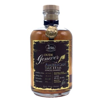 Zuidam Oude Genever American Oak 15yo Single Barrel