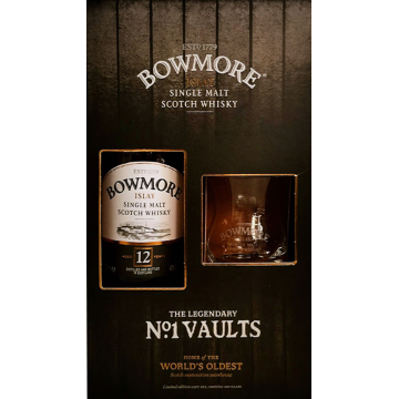 Bowmore 12 Years no.1 Vaults (gift pack)