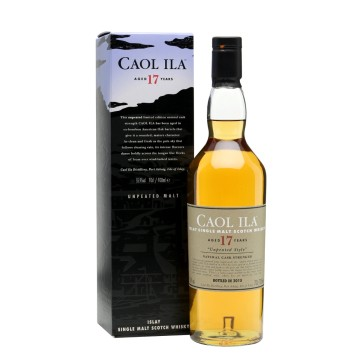 Caol Ila Islay Single Malt 17 Years Old Unpeated