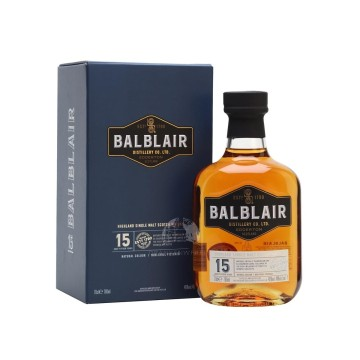 BALBLAIR 15 Years Old Single Malt Whiksy