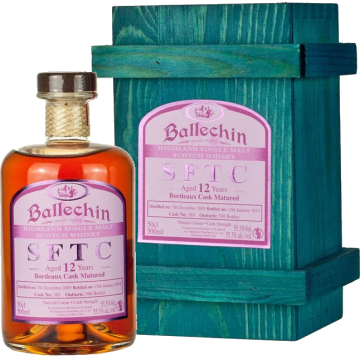 Ballechin SFTC 12 Years Bordeaux Casks