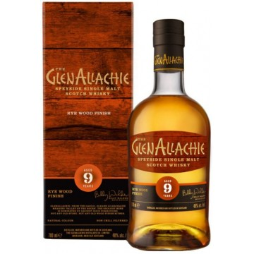 The Glenallachie 9 Years Rye Wood Finish